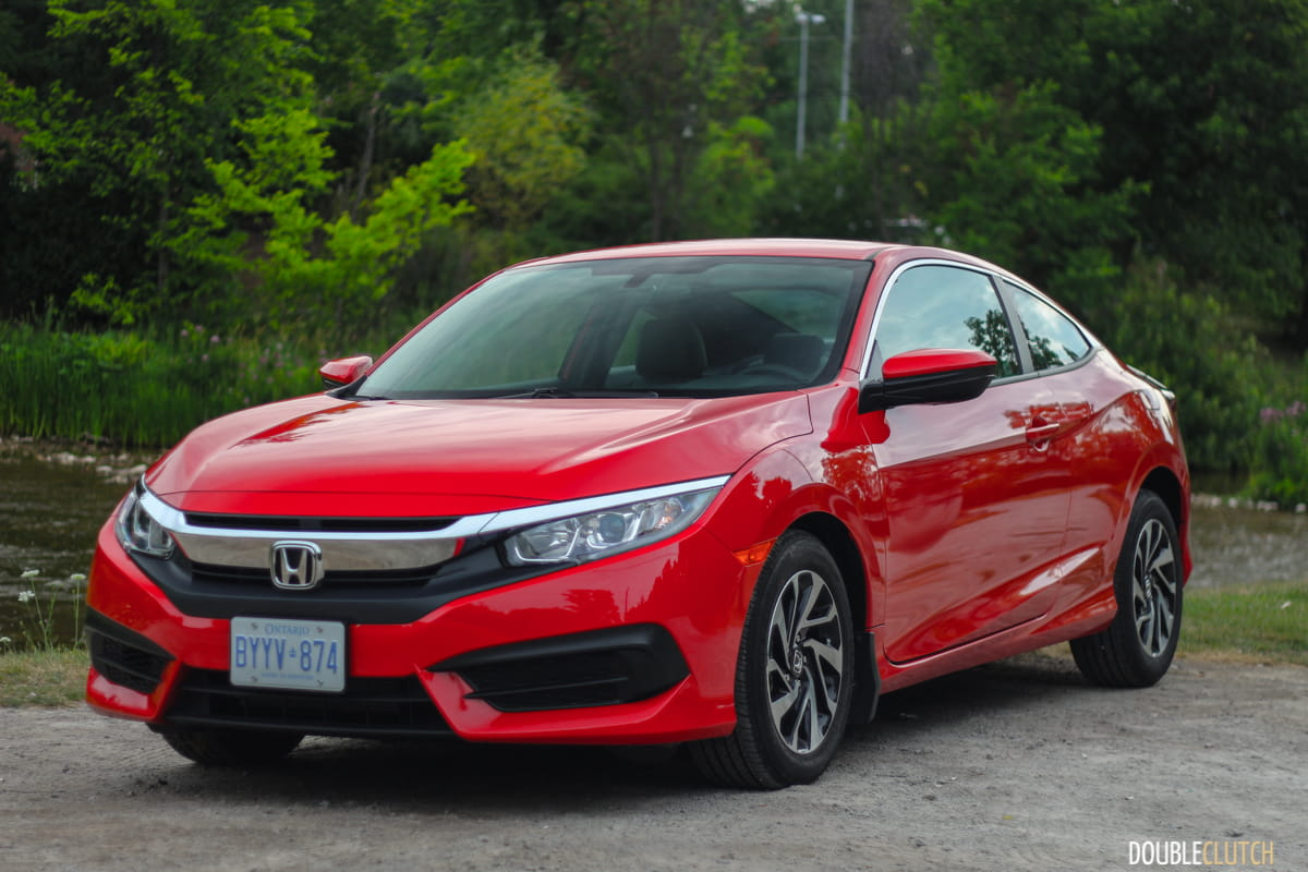2016 Honda Civic Coupe Lx Review Doubleclutch Ca