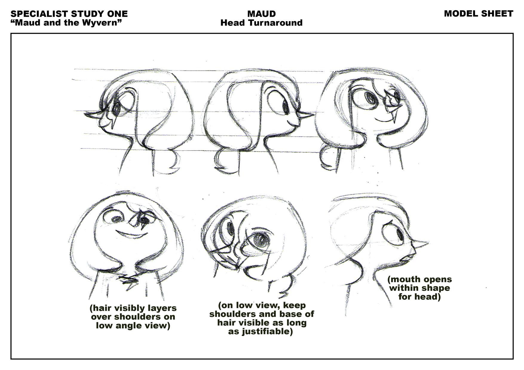 model sheet template