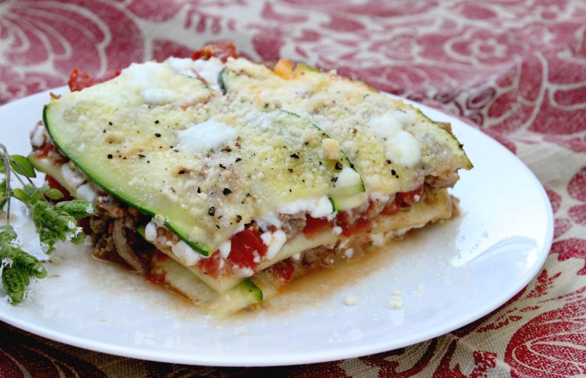 zucchini lasagna a gluten free dinner recipes international