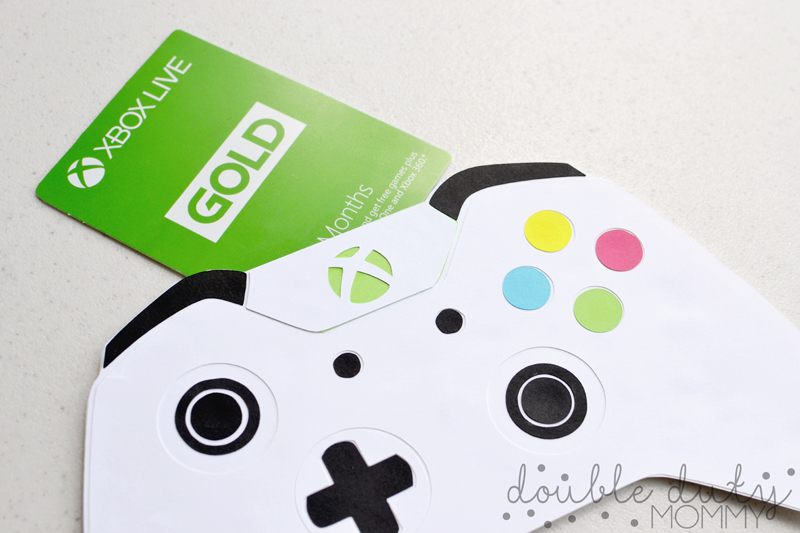 HOW TO DIY Xbox Controller Gift Card Holder Double Duty