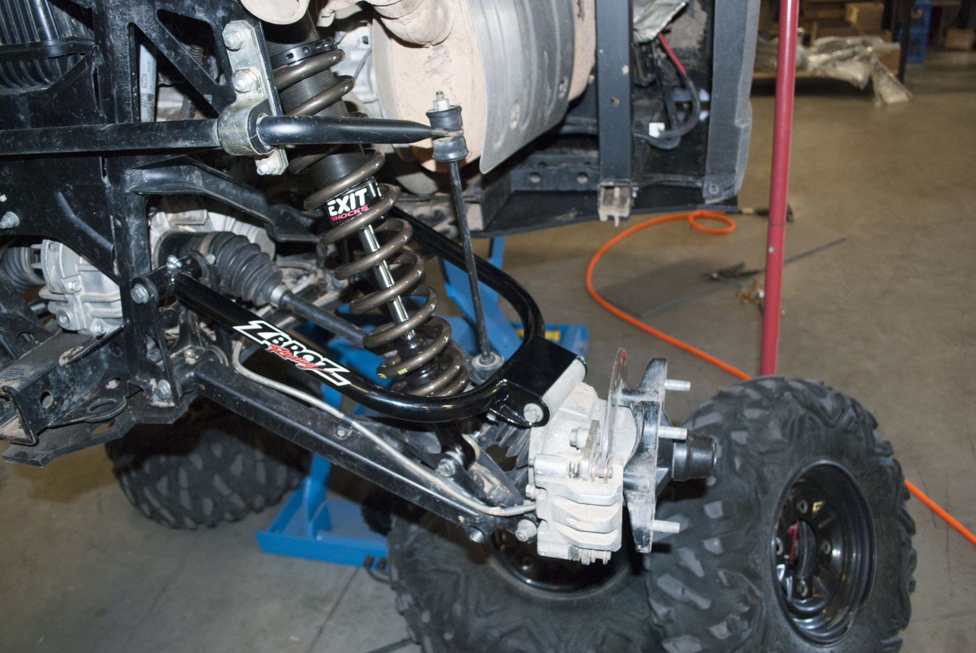 hight resolution of ranger xp 900 xp 900 crew models exit series shocks includes rear upper a arms