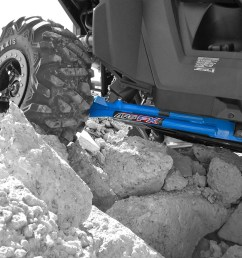 trailing arm kit for polaris rzr 900xp 900xp 4 max ground clearance [ 1333 x 1000 Pixel ]