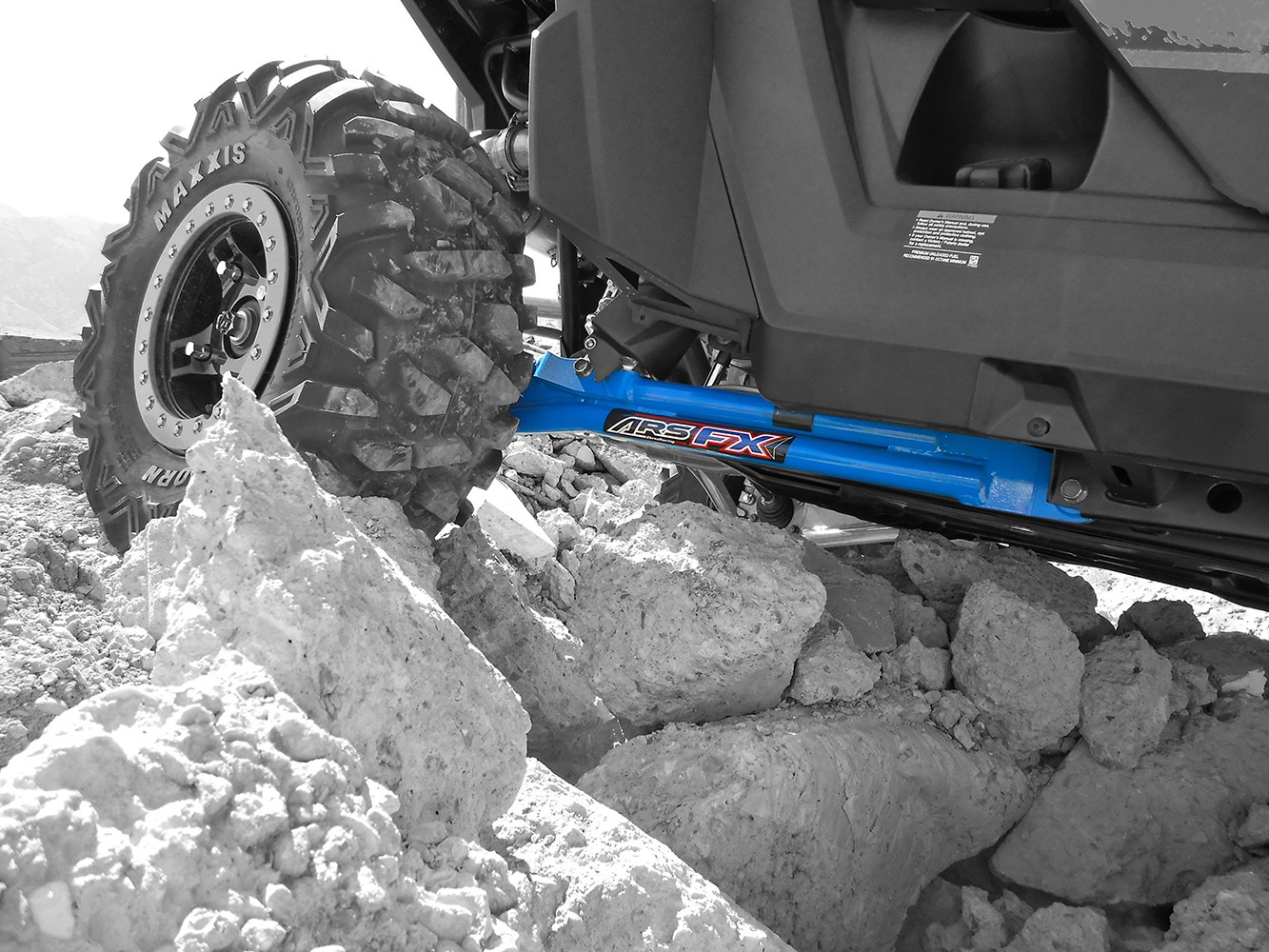 hight resolution of trailing arm kit for polaris rzr 900xp 900xp 4 max ground clearance