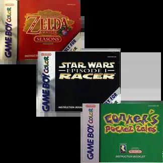 Game Boy Color Manuals