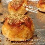Chicken Parm Meatball -  Double Knotted Apron