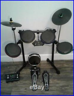 Rock Band Drum Set Ps4 : Bundle, Drums, Double, Pedal, Playstation