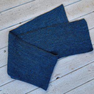 Garter Striped Mitered Corner Wrap 02