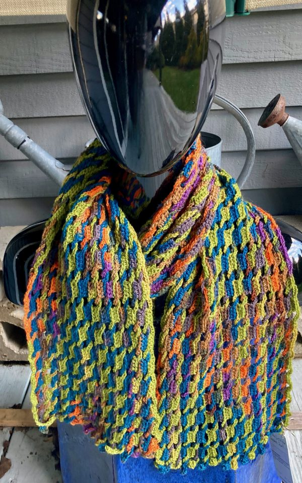 Interlocking Crochet Scarf ICS0025 02