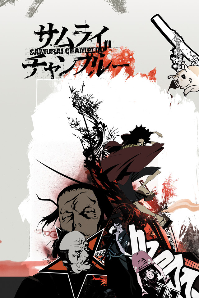 Samurai Champloo Cover Art