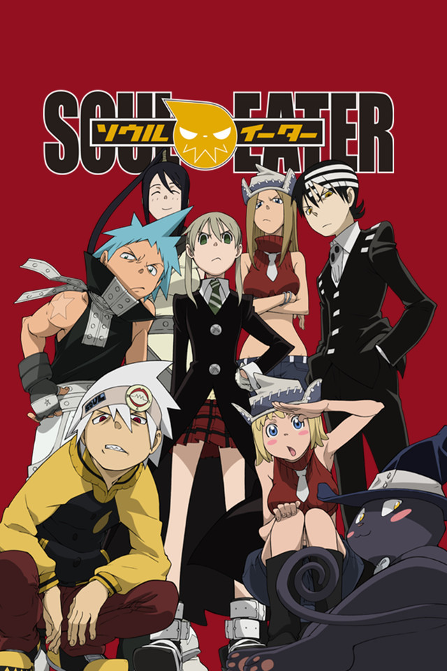 Soul Eater anime cover art featuring the main characters
