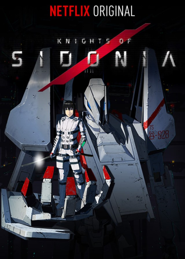 Knights of Sidonia anime cover art featuring Nagate Tanikaze