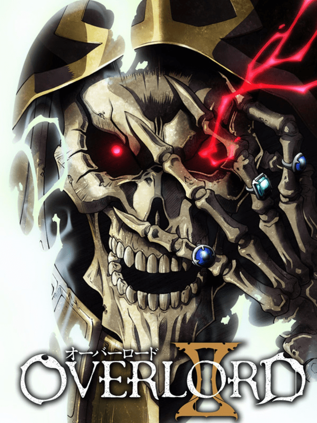 Overlord anime season 2 cover art featuring Ains Ooal Gown