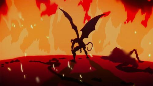 Devilman from the Netlix original anime Devilman: Crybaby