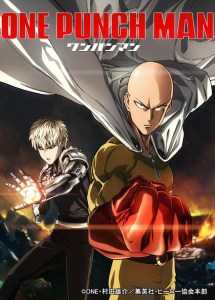 One Punch Man anime series cover art