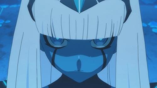 Klaxosaur Princess from the anime Darling in the FranXX
