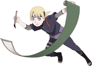 Inojin Yamanaka from the anime Boruto: Naruto Next Generations