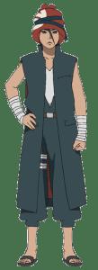 Iwabe Yuino from the anime Boruto: Naruto Next Generations