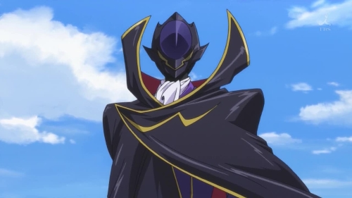 Lelouch Lamperouge from the anime Code Geass: Lelouch of the Rebellion