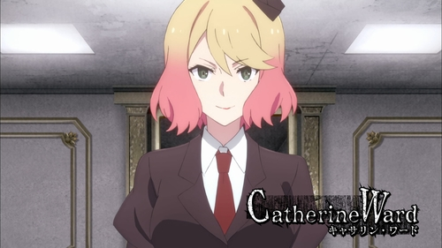 Catherine Ward from the anime Angels of Death