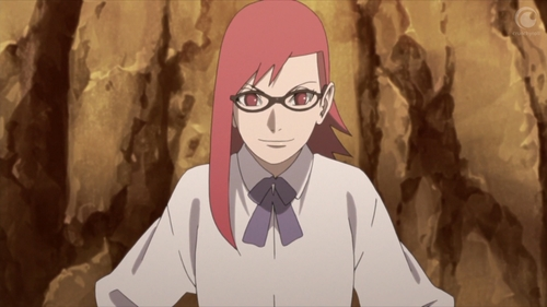 Karin Uzumaki from the anime Boruto: Naruto Next Generations