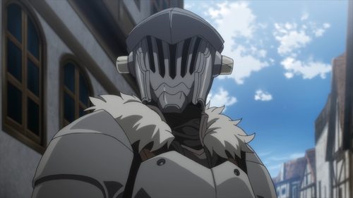 Goblin Slayer from the anime Goblin Slayer