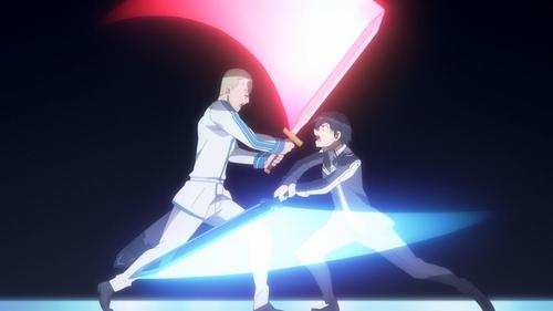 Volo Levanteinn vs. Kirito from the anime Sword Art Online: Alicization