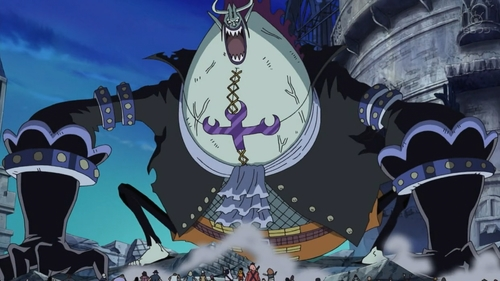 Gekko Moriah (powered up version) from the Thriller Bark saga of the One Piece anime