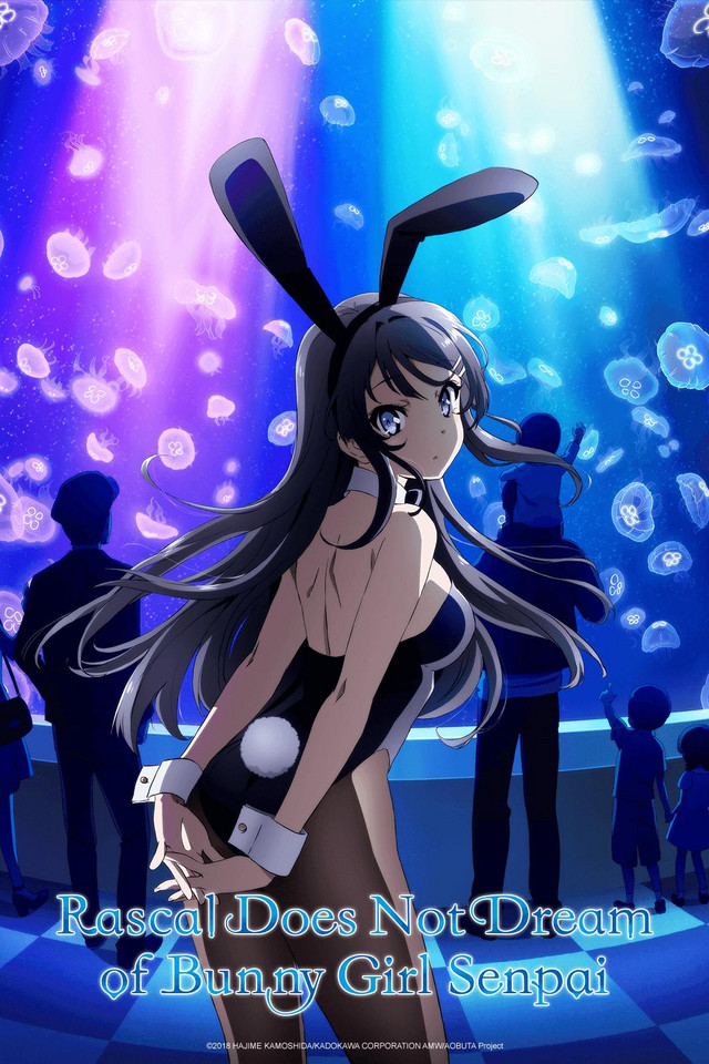 Rascal Does Not Dream of Bunny Girl Senpai anime series cover art