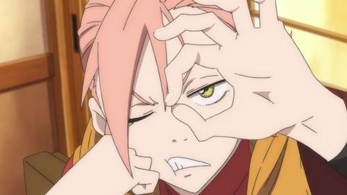 Haruko Haruhara from the anime OVA series FLCL