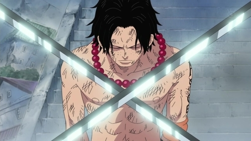Portgas D. Ace from the One Piece anime series