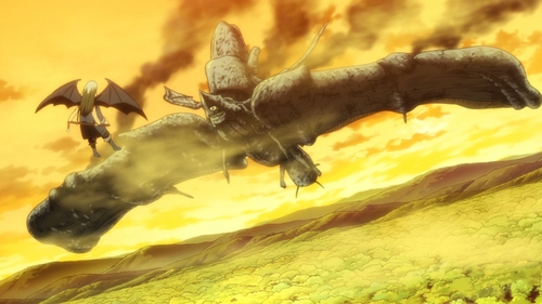 Rimuru vs. Charybdis from the anime series That Time I Got Reincarnated as a Slime