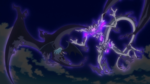 Rimuru vs. a Sky Dragon from the anime series That Time I Got Reincarnated as a Slime