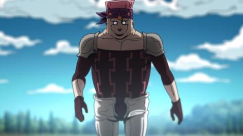 Carne from the anime series JoJo's Bizarre Adventure Part 5: Golden Wind
