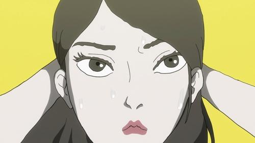 Ekoda-chan as seen in episode 2 of the anime series Near Death!! Ekoda-chan