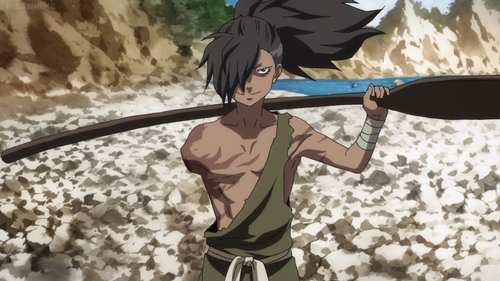 Shiranui from the anime series Dororo