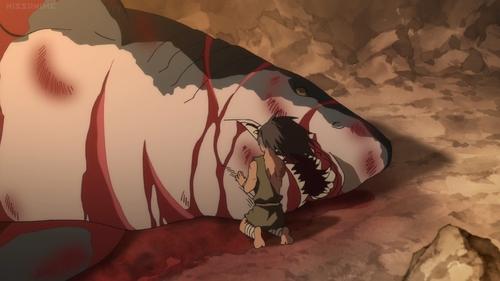 Shiranui and Saburomaru from the anime series Dororo