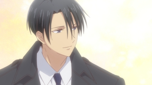 Hatori Souma from the anime series Fruits Basket