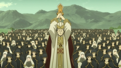 The Pope from the anime series The Rising of the Shield Hero