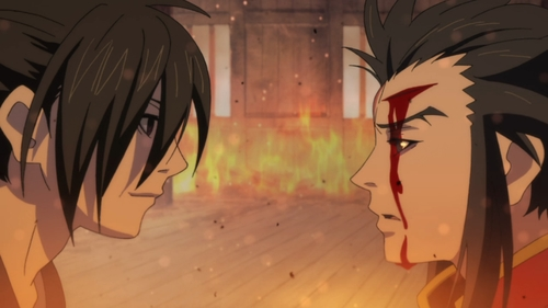 Hyakkimaru and Tahoumaru from the anime series Dororo