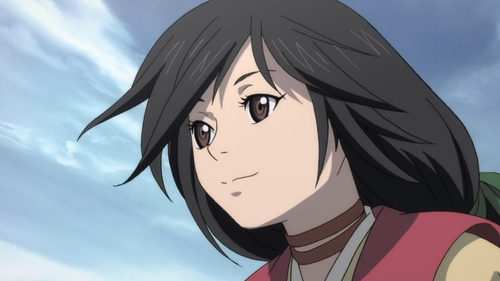 Teenage Dororo from the anime series Dororo