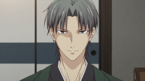 Shigure Souma from the anime series Fruits Basket