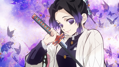 Shinobu Kochou from the anime series Demon Slayer: Kimetsu no Yaiba