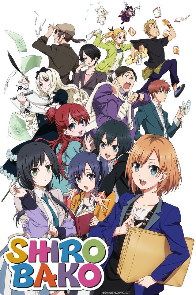 Shirobako anime series cover art