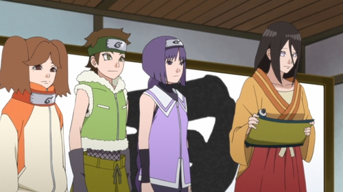 Team 15 from the anime series Boruto Naruto Next Generations