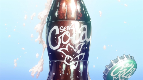 Senku Cola from the anime series Dr. Stone
