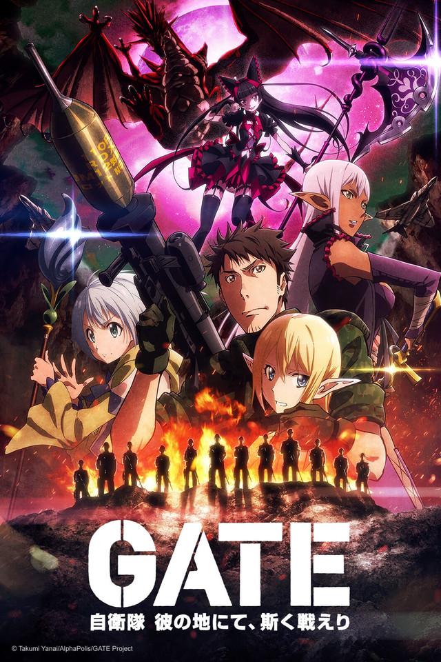 GATE 2nd Season anime series cover art