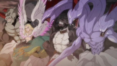 The Incarnates from the anime series To the Abandoned Sacred Beasts