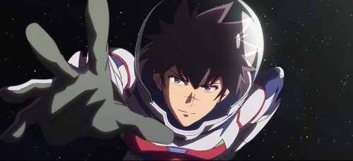 Kanata Hoshijima from the anime series Astra Lost in Space