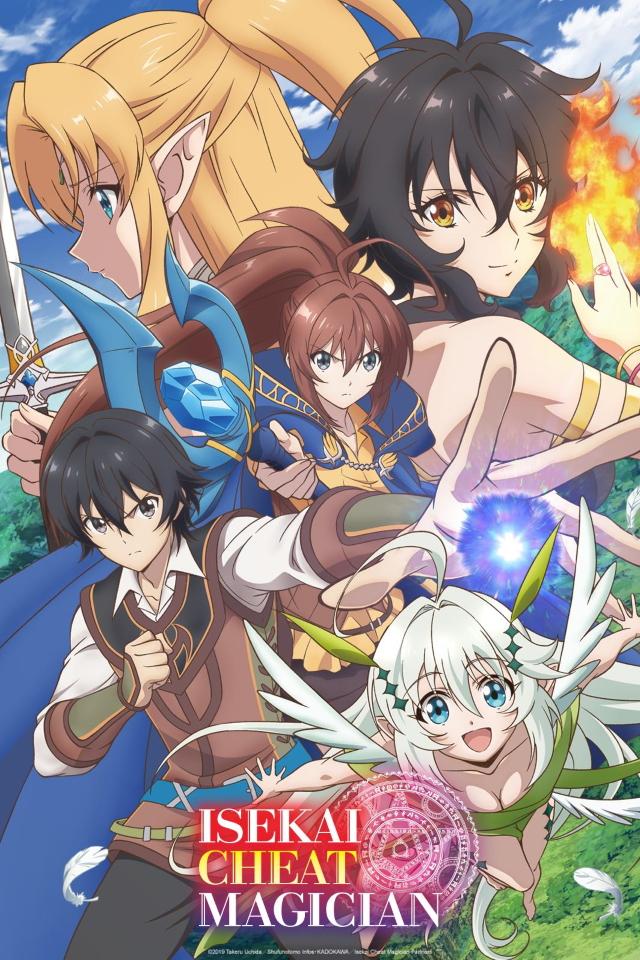 Isekai Cheat Magician anime series cover art