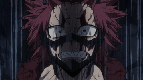Red Riot from the anime series My Hero Academia season 4